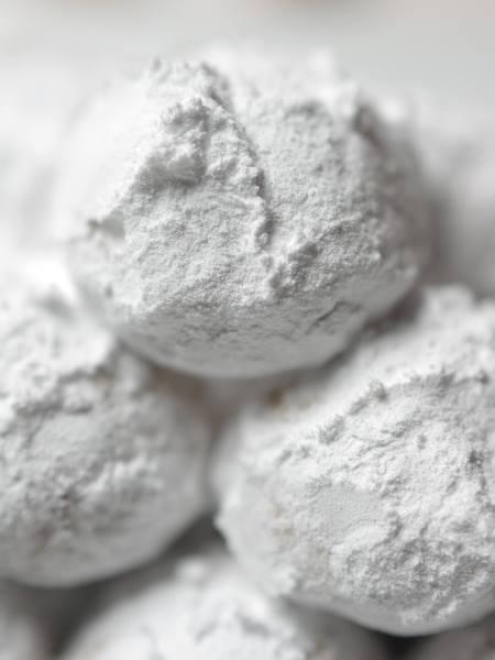 アーモンドスノークッキー白い誘惑